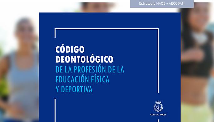 Código deontolóxico da profesión da educación física e deportiva (27/01/2020)