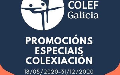 PROMOCIÓNS ESPECIAIS PARA NOVAS COLEXIACIÓNS DURANTE O ANO 2020
