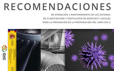 RECOMENDACIÓNS PARA A PREVENCIÓN DA COVID-19 EN SISTEMAS DE VENTILACIÓN