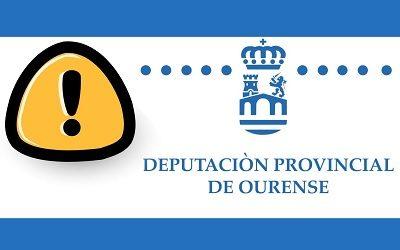 A DEPUTACIÓN DE OURENSE ANUNCIA CONTRATACIÓNS QUE NON CUMPREN A LEXISLACIÓN