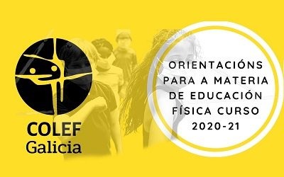 ORIENTACIÓNS PARA A EDUCACIÓN FÍSICA CURSO 2021-2021