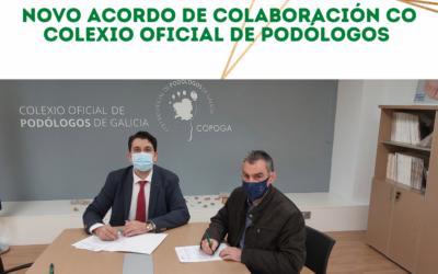O COLEF Galicia firma novos os acordos con empresas do sector e colexios profesionais do ámbito da saúde