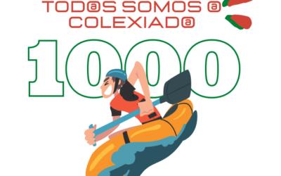 """1000 GRAZAS! CELEBRAMOS A XORNADA """"TOD@S SOMOS @ COLEXIAD@ 1000"""""""